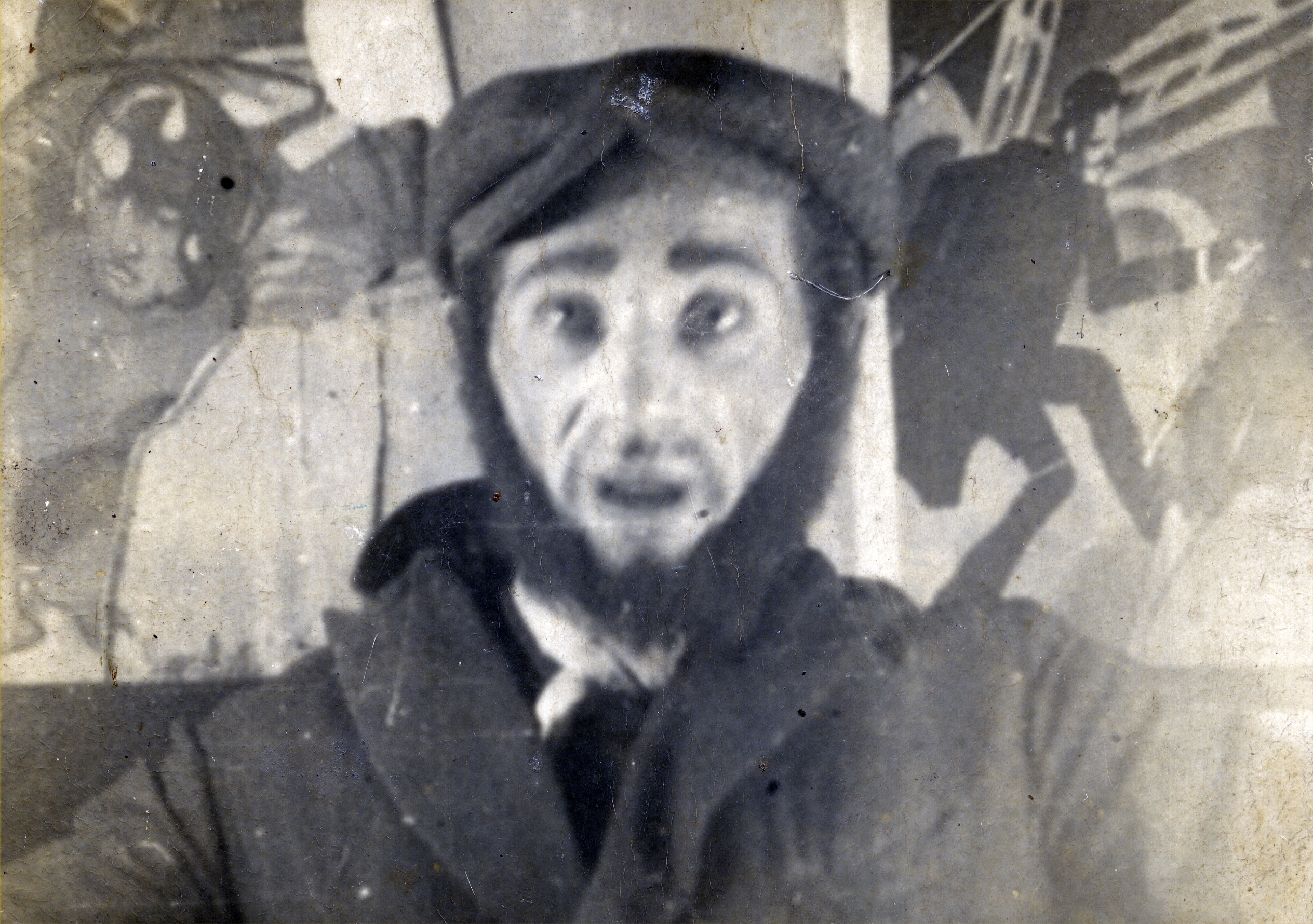 Shlomo Rybak, Rivka Miedzyrzecki's (brother acting in the Yiddish theater.  Shlomo Rybak attempted to escape to Russia but was killed on the way.
