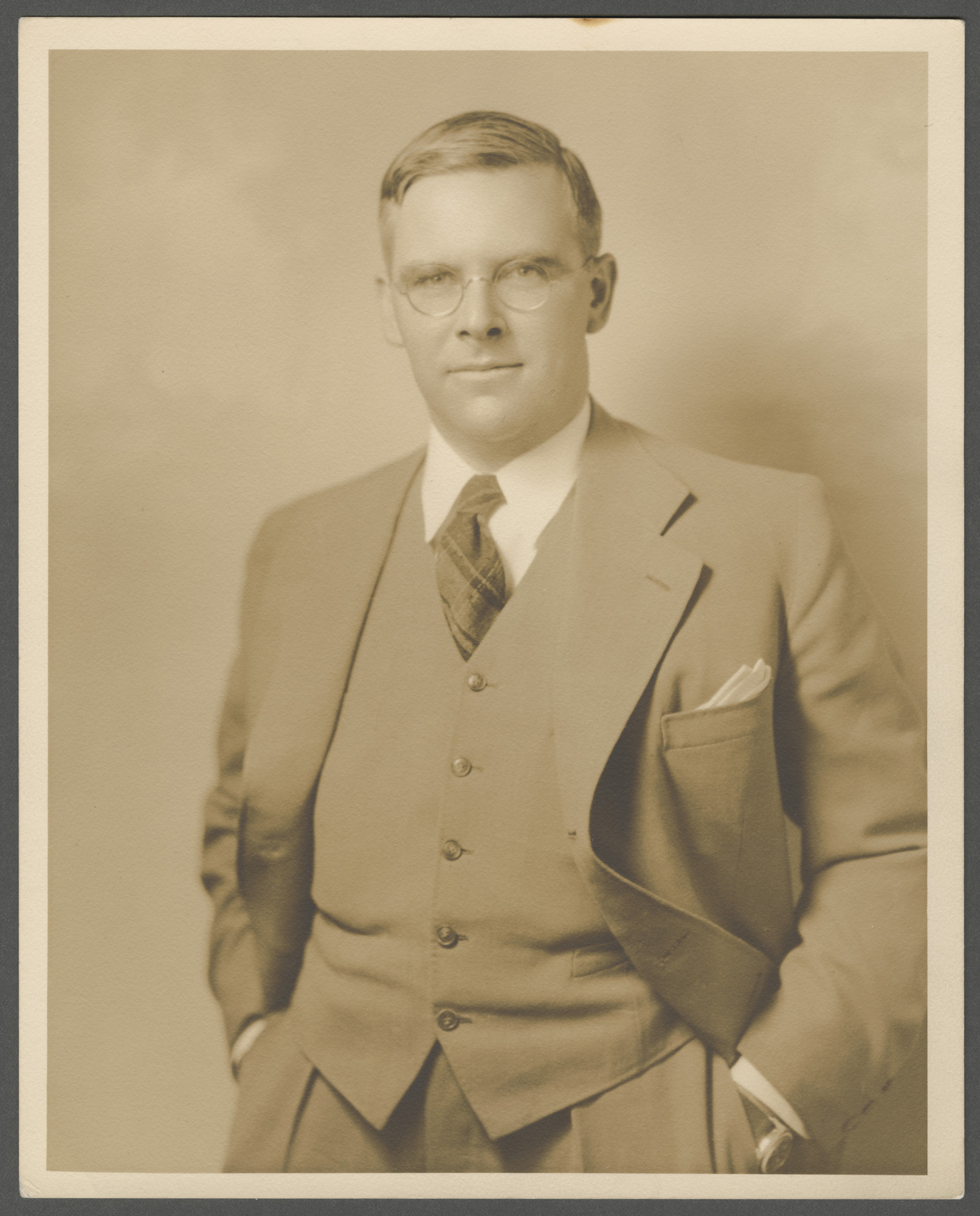 Portrait of Waitstill Sharp.