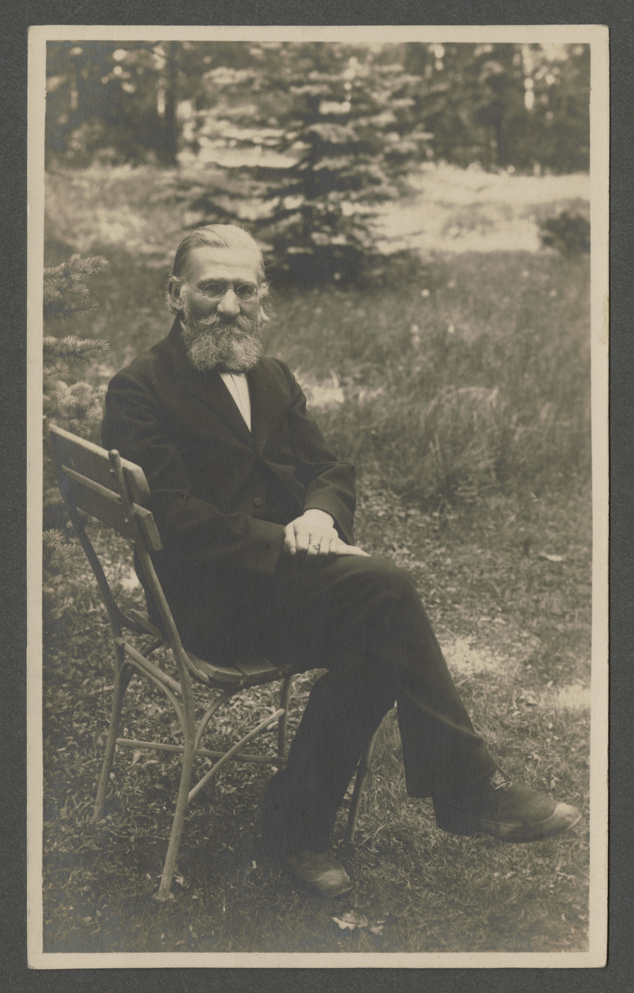 Portrait of Bernhard Ohs.
