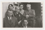 Portrait of part of the Brecher family taken soon after the Anschluss.