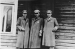 Employees of the labor department of the Kovno ghetto.