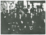 Romanian Jews interned in the Gorony camp in Hungary.
