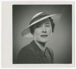 Close-up portrait of Vilma Eisenstein Grunwald.