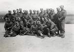 Group portrait of Jewish Brigade soldiers (Unit 8) in Libya.