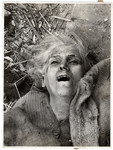 """The face of suffering Poland:""  a woman killed when the Germans bombed her apartment building."