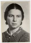 Studio portrait of Lyda Bagriansky Geist.