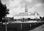View of the Catholic monastery at St. Ottilien which was used as a Jewish hospital and displaced persons camp from April 1945 until November 1948.