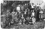 School children from Olkusz go on a class trip to Ojcow.