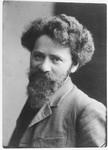 Portrait of sculptor Naum Aronson.