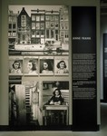 Segment on Anne Frank on the third floor of the permanent exhibition in the U.S.