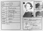 Child's passport of Ellen Markiewicz