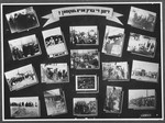 "Display panel from a photo exhibition on the Holocaust entitled, ""Did They Come Back?"" created by photographer George Kaddish in a displaced persons' camp."