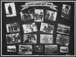 "Display panel from a photo exhibition on the Holocaust entitled, ""Where Are Our Parents?"" created by photographer George Kaddish in a displaced persons' camp."