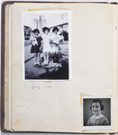 """One page from a """"Posie book"""" or autograph album that belonged to Eva Goldberg Judd (donor's wife)."""